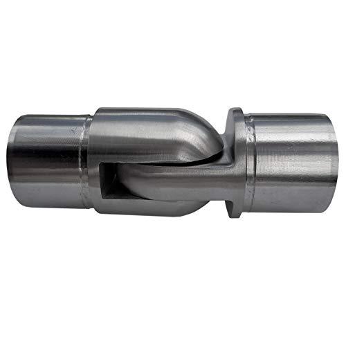 Gelenkverbinder Premium Edelstahl für Handlaufrohre Außen Ø 42,4 mm Steckfitting Handlaufverbinder von SO-TOOLS®