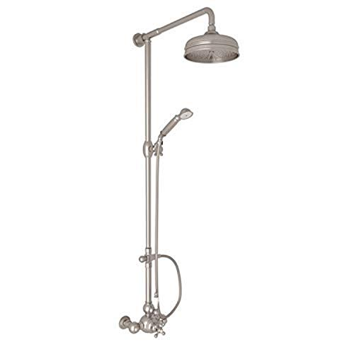 Find Discount ROHL AC407OP-STN THERMOSTATIC SHOWER, Satin Nickel