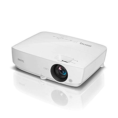BenQ MX535P XGA Business and Classroom Projector | DLP | 3600 Lumens Brightness | Upto 15,000 Lamp Life | Dual HDMI | in-Built Speaker | Keystone Correction | Simple Setup | SmartEco Technology