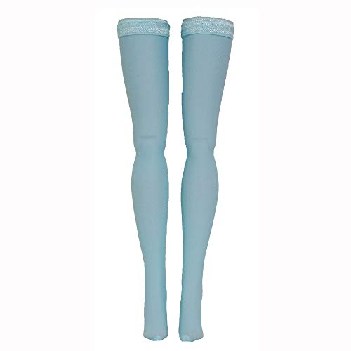 Light Blue Doll Stockings for Ever After and Monster High dolls - all sizes