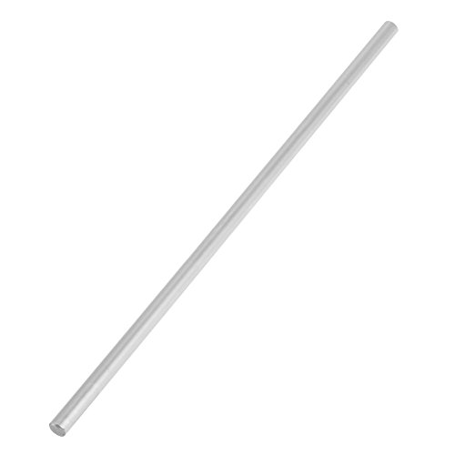 Linear Shaft Straight Round Rod 6mm Diameter Model Straight Metal Round Shaft Rod Bars for DIY RC Car, RC Helicopter Airplane(200mm)