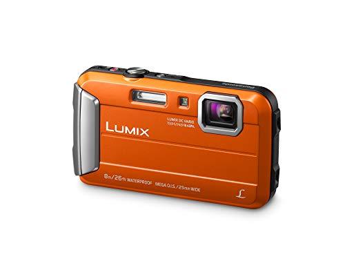 Panasonic LUMIX DMC-FT30EB-D - Fotocamera digitale compatta, impermeabile, colore: Arancione