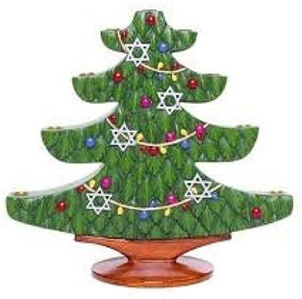 Jews Christmas Trees.Amazon Com Holly Jolly Jews Christmas Tree Menorah Home