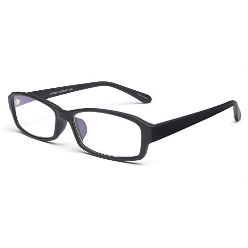 Double Legend 老眼鏡 ブルーライトカット おしゃれ 度数調節(+0.50〜+4.00) 見やすく 楽に掛けられる 軽量 スクエア型 高級ガラス 度数+2.50