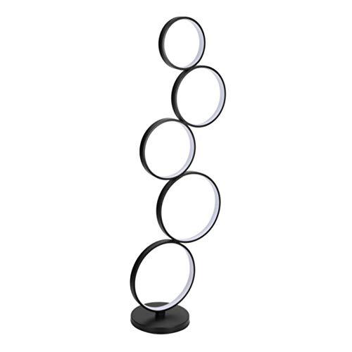 WUYUESUN Poupular Creativo LED Lámpara de la Sala de Estar Dormitorio línea Vertical Minimalista Negro Iluminación Lámparas Círculo Simple Moderna