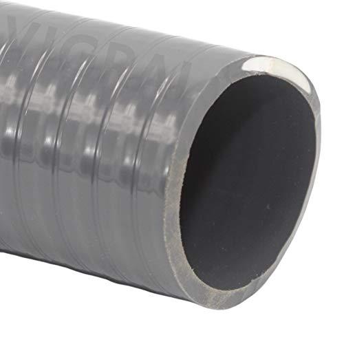 Generisch PVC Klebeschlauch Flexschlauch Schwimmbad Pool Teich 50x42mm - 5m