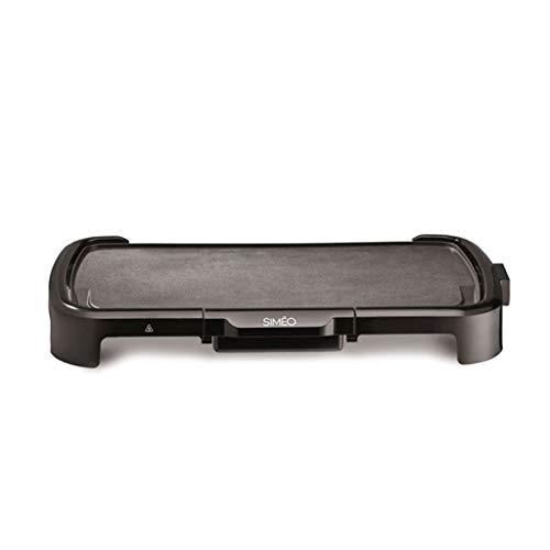 Siméo - pla125 - Plancha électrique 2000w 50x26,5cm