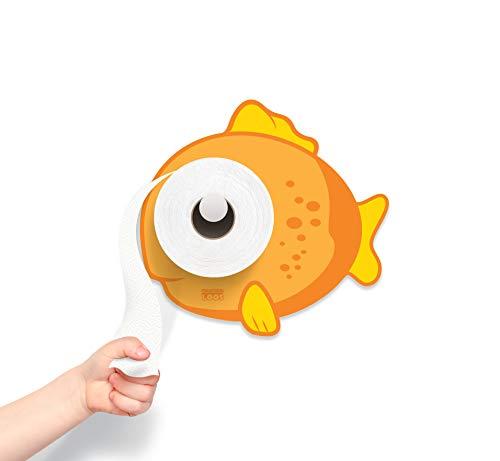 KooKooGuppy - Toilet Paper Holder - Bathroom Decoration - Bath Time - Potty Training - Fish