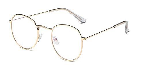 LHSDMOAT Brille ohne stärke für Herren Damen retro John lennon brille vintage rounde brille klassisch nerd brille deko Brillenfassungen