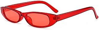 TYJYY Sunglasses Vintage Rectangle Sunglasses Women Cat Eye Designer Ladies Small Frame Black Red Sun Glasses Brand Retro ...