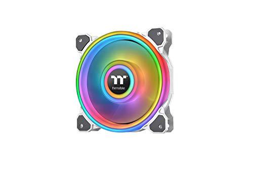 Thermaltake Riing Quad 14 RGB Radiator Fan TT Premium Edition 3 Pack - Weiß