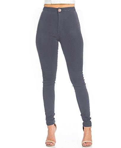 High Waist Jeans Skinny Vaqueros Mujer Push Up Pantalon Tejanos Mujer Elasticos Casual Retro Denim Slim Vaquero