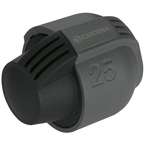 Gardena Sprinklersystem Endstück: Verschluss-Stück für Gardena Verlegerohr, Rohrverbindung 25 mm, Quick&Easy Verbindungstechnik, kompatibel mit Gardena Verlegerohre, werkzeuglose Montage (2778-20)