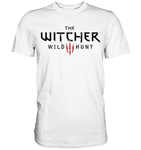 NR The Witcher 3 Wild Hunt T-Shirt (Geralt Saga Ps4 Switch Pc Xbox)
