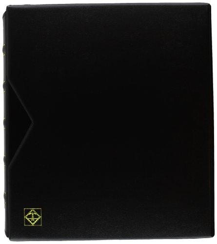 Album pour pièce de monnaie Leuchtturm 324423 - Optima Classic - Avec cassette de protection - Noir
