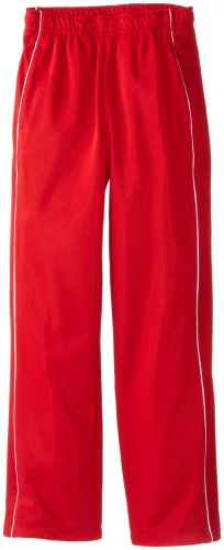 Soffe Big Boys' Warm Up Pant, Red, Medium