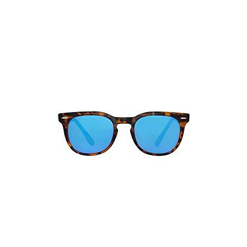 Spektre Memento Audere Semper Sonnenbrille Männer Frauen hoher Schutz spiegel blau Made in Italy