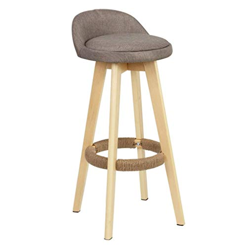 MTCGH Stühle, Hochstühle, Barstühle, Hocker Schwenkhöhe Barhocker Esszimmer Frühstück Pub Home Cafe Küche Fußstütze Textil Gepolsterte Moderne Stühle, Sitzen,# 2.