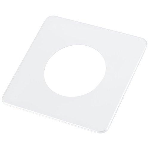 pekarek® Schutz / Dekor Platte Transparent – Für Licht Schalter und Steckdosen 1 fach (1 Stück)