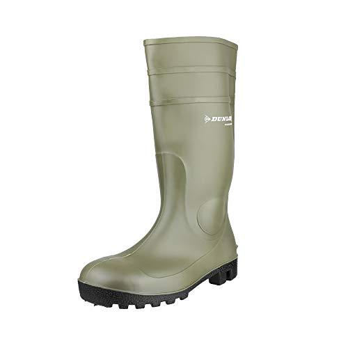 Dunlop Protective Footwear Protomastor full safety Unisex-Erwachsene Gummistiefel, Grün 42 EU