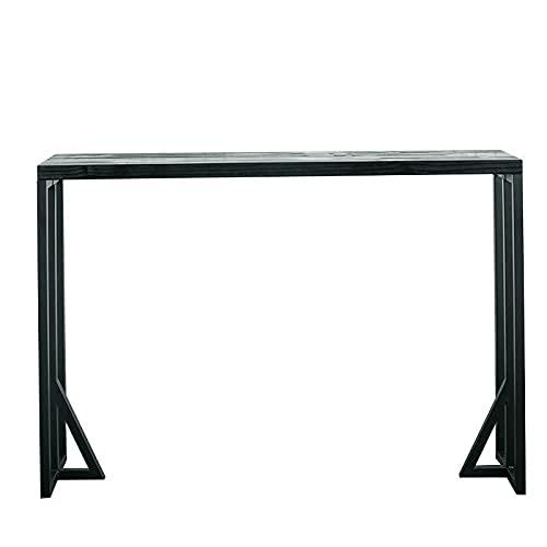 Conjunto de mesa bistró Mesas de bar y sillas Coffee Shop Bares High Bar Tablas Entretenimiento Lugares Largas Tablas de bar comedor (Size : 160 * 40 * 85cm)