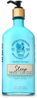 【Bath&Body Works/バス&ボディワークス】 ボディローション アロマセラピー スリープ ハイビスカスイランイラン Body Lotion Aromatherapy Island Edition Sleep Hibiscus Ylang Ylang 6.5 fl oz / 192 mL [並行輸入品]