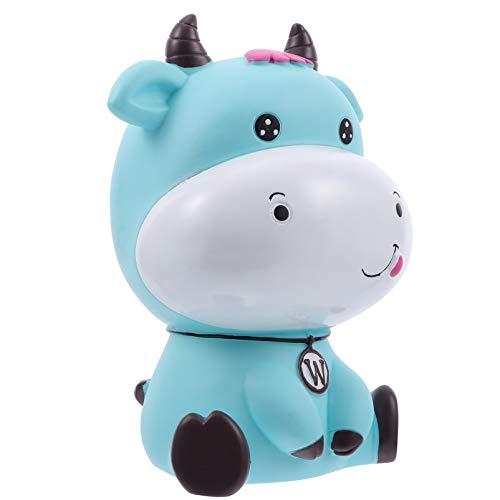BESPORTBLE Bonita Figura de Vaca de Ganado Año Del Buey Hucha 2021 Año Nuevo Chino Zodíaco Recuerdo Regalo Feng Shui Toro Estatua Animal Caja de Dinero