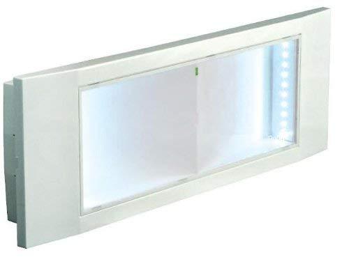 Beghelli BEG1499 Plafoniera Emergenza A Batteria, LED 11 W, Bianco