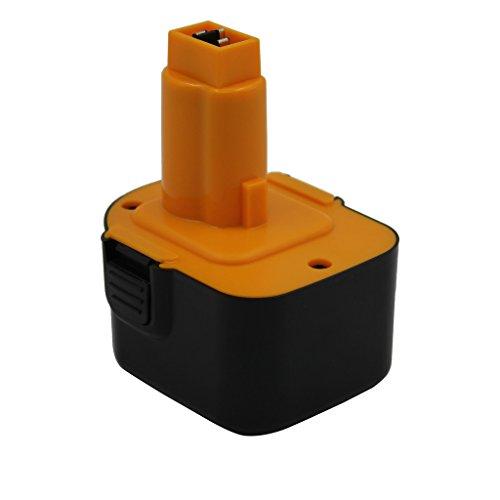 Kinon Reemplazo Herramienta Eléctrica Batería 12V 2.0Ah para Dewalt Taladro inalámbrico Destornillador DC9071 DE9037 DE9071 DE9072 DE9074 DE9075 DE9501 DW9071 DW9072 152250-27 397745-01 DC743KA DW940K