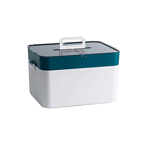 Medizin Box, Tragbar Medikamenten Organizer Zuhause Hausapotheke Box/Erste Hilfe Box Für Und Urlaub Arzneimittelbox
