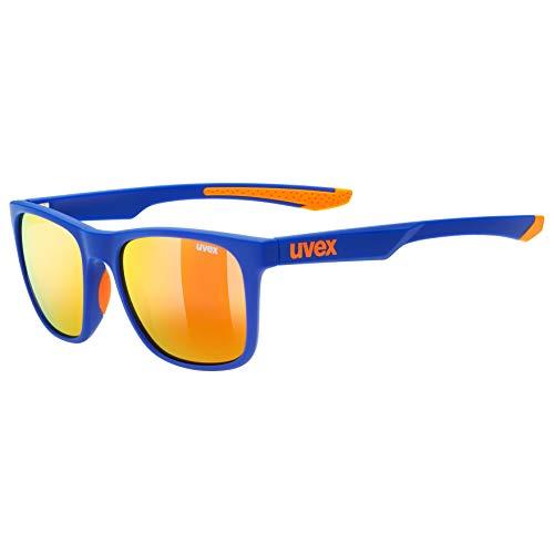 uvex Unisex– Erwachsene, lgl 42 Sonnenbrille, blue orange, one size