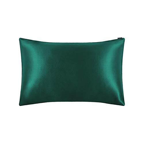 MTXD Cubierta de Almohada de 1 Pieza 100% Funda de Almohada de Seda Pure Natural 80 Tela C. 60x70cm (Size : 43x63cm)
