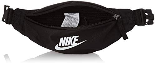 Nike Heritage Small Fanny Pack Black/Black/White One Size