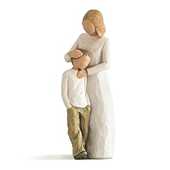Willow Tree Mother and Son Sculpted Hand-Painted Figure