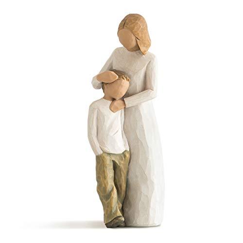 Willow Tree 26102 Madre e Figlio Resina, Design di Susan Lordi, 21 cm