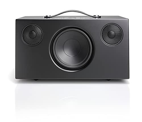Cassa Bluetooth Wireless Multiroom con Connessione e Wifi - Speaker Potente e Portatile Compatibile con AirPlay 2 e Google Cast - Audio Pro Addon C10 MKII - Nero
