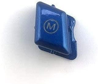 For Bmw 3 Series E90 E92 E93 M3 2008 2009 2010 2011 2012 2013 Steering Wheel Control Button M Mode Replace Sports Translucent (Blue)