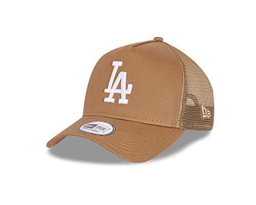 New Era Los Angeles Dodgers Cap Trucker Kappe Tonal Mesh Basecap MLB Baseball Beige - One-Size