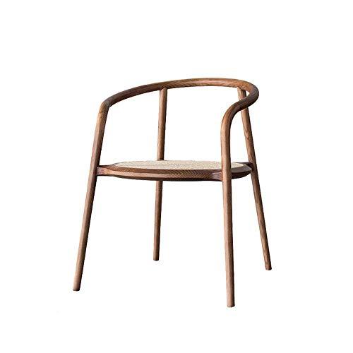 Möbel Dekoration Rattansofa Rattanstuhl Einfacher Balkon Umfassender Stuhl Massivholz Lounge Chair Nordic Single Armchair Sofastuhl