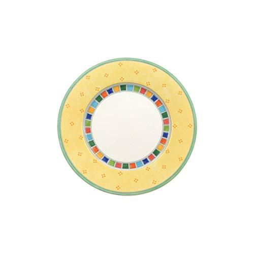 Villeroy & Boch Twist Alea Limone Bread & Butter Plate, 6.5 in, White/Yellow
