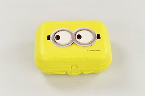 TUPPERWARE To Go Twin Minions Brotdose Box Behälter Größe 2 gelb 26359