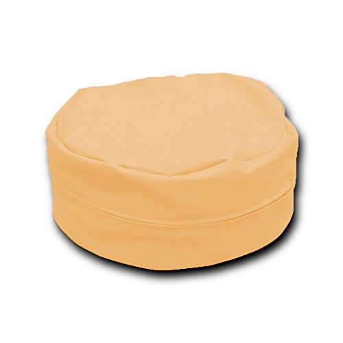 Puff Beanbag Árabe Polipiel XL 58x28cm (Amarillo Pastel)