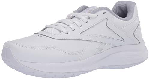Reebok Women's Walk Ultra 7 DMX MAX Shoe, White/Cold Grey/Collegiate Royal, 6 D US