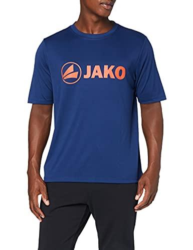 JAKO Promo T-Shirt Fonctionnel 4XL Marine/Flame