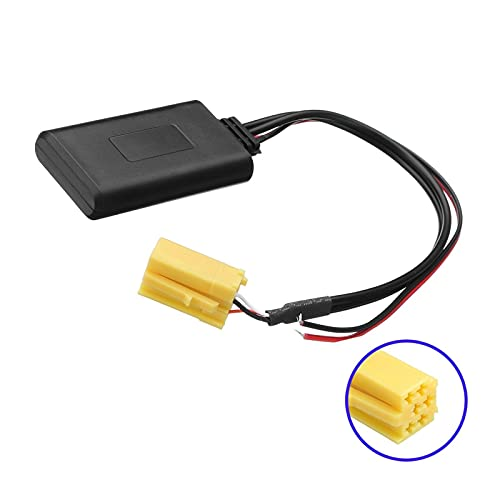 MEIKAI Módulo Bluetooth De 6 Pin Ajuste para Alfa Romeo 159 para FIAT Grande Punto Car Stereo Mini ISO Adaptador De Música AUX Cable De Audio AUX