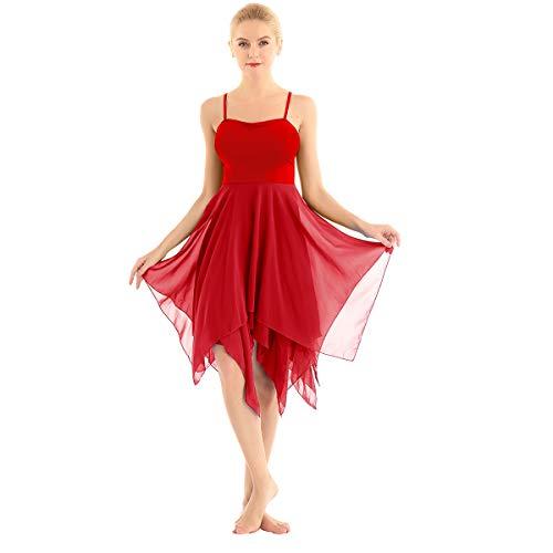 ranrann Vestido Tirantes de Ballet...
