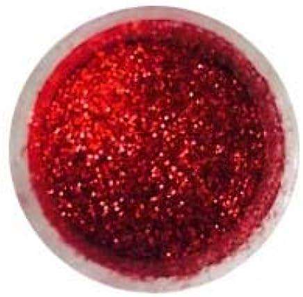 Gum Paste Christmas Red Deco Glitter 5g for Cake Decor Fondant