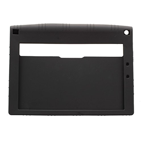 REFURBISHHOUSE TPU Silikon Gel Gummi Case Abdeckung FüR 10,1 Zoll Yoga Tablet 2 1050f Schwarz