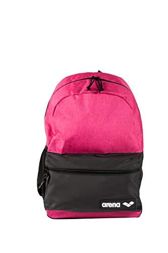 Arena Team Backpack 30L, Zaino Scolastico Sportivo da 30 Litri Unisex Adulto, Rosa (Pink Melange), Taglia Unica