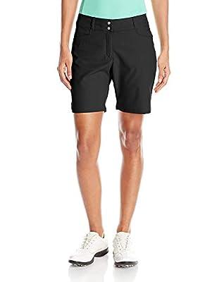 adidas Golf Women's Essentials Shorts, Black, Size 14